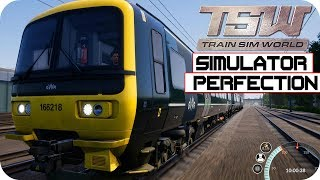 Train Simulator Perfection - Train Sim World Gameplay | PC HD |