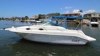 Sea Ray 250 Sports Cruiser for sale Action Boating, boat sales, Gold Coast, Queensland, Australia