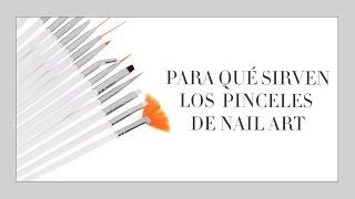 Cómo usar los pinceles para la decoración de uñas   facilisimo.com