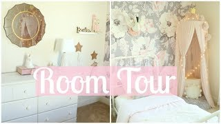 BAYLEE'S TODDLER ROOM TOUR!! | TODDLER GIRL ROOM DECOR | Tara Henderson
