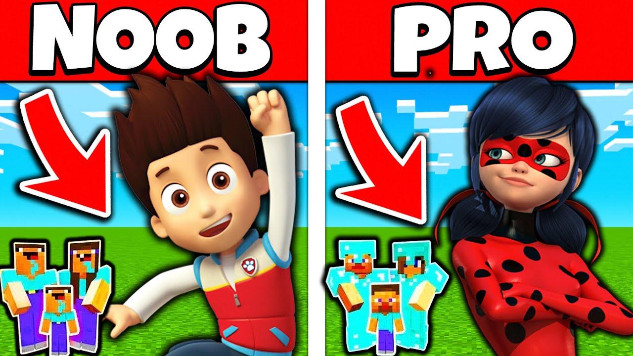 Minecraft Battle FAMILY LADYBUG AND SIREN HEAD IN MONSTER SCHOOL    NOOB vs PRO vs HACKER vs GOD