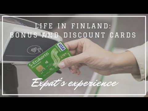 Life in Finland: Bonus and discount cards