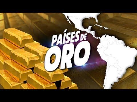 Los 10 Países Con Más ORO De América Latina