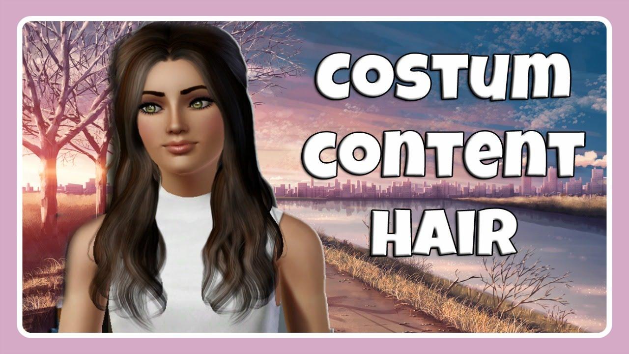 Mein Die Sims 3 Custom Content 1 HAARE FRAUEN