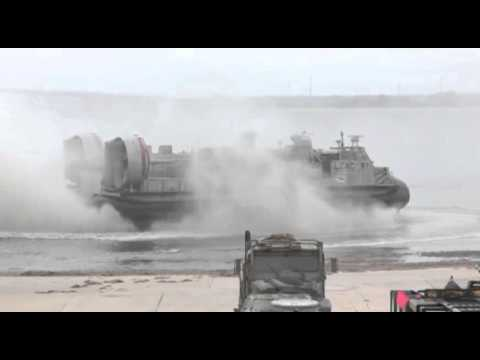 U.S. Navy's LCAC 91 achieves Navy's fastest maritime surface craft speed on algal fuel blend