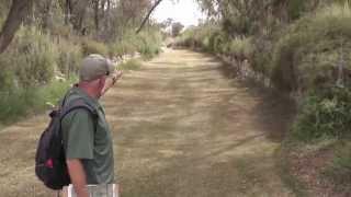 Disc Golf course Park Eshkol Israel - Hole 9