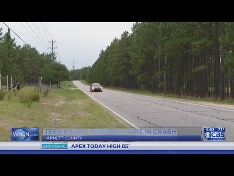 Teen killed in Harnett County