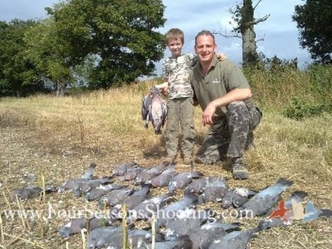 Father & Son pigeon Shooting South Africa doves and Pigeon Hunting £175 per person 2018