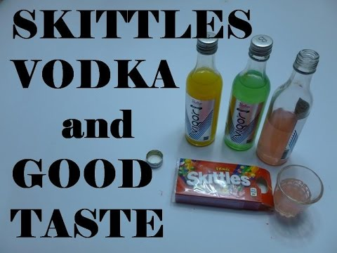 how to make skittles vodka quickly