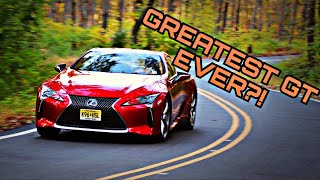 2018 Lexus LC 500 - It Might Be One Of The Best GT Cars Ever Made