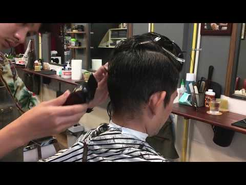 Stefan The Barber Haircut by Deaw at Fiveprows Barbershop