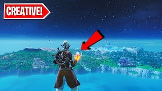 *NEW* How to get to MAIN ISLAND in CREATIVE MODE with PHONE (Fortnite Season 9 Glitch After Update)