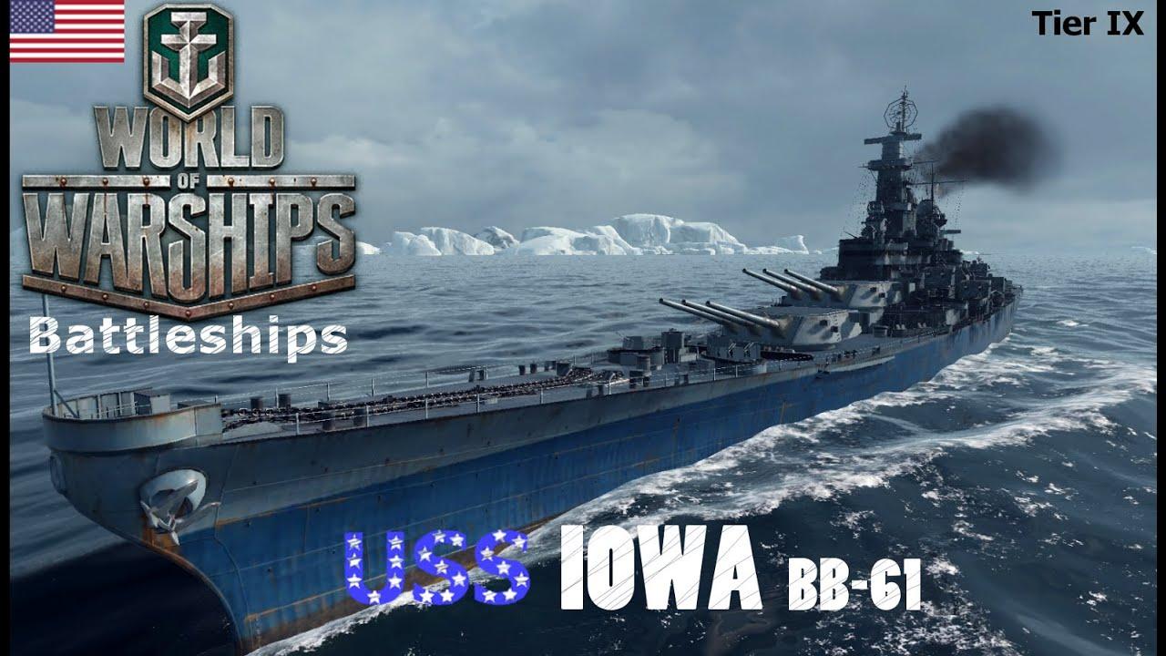 World of Warships - Battleships - American Tier IX - USS ...