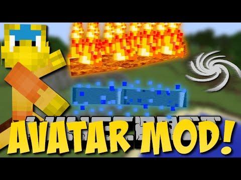 Minecraft AVATAR MOD!! (Feuer-, Wind-, Wasser-Kräfte) [Deutsch]