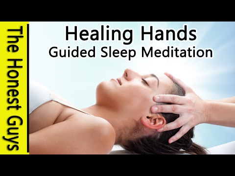 "DEEP SLEEP MEDITATION ""Healing Hands"" - Guided Sleep Talk down"