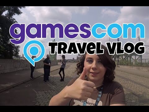 Travel Vlog - Gamescom 2017 - Cologne, Germany - Heroes Of The Storm And Blizzard