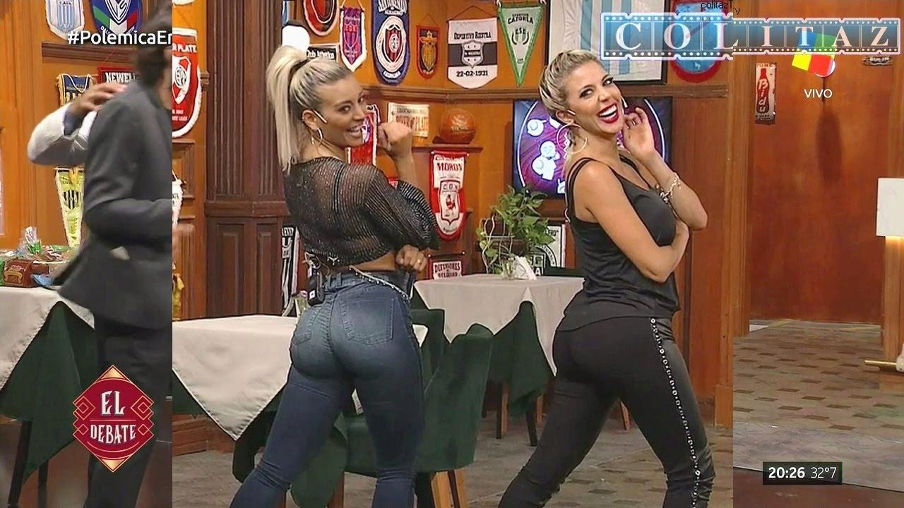 Download Sol Perez Jeans Ajustadisimos y Virginia Gallardo Calzas Polemica HD720P Colitaz