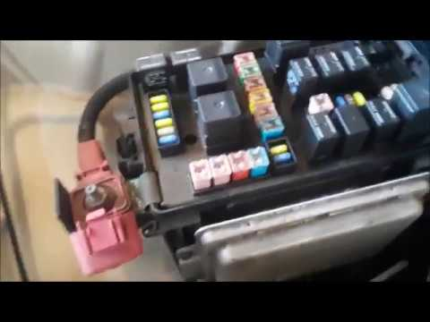Chrysler 300 Fuse Box Locations
