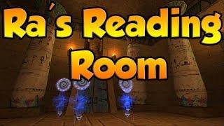 "Wizard101: Ra's Reading Room | ""NEW WOOD SKELETON KEY BOSS"""