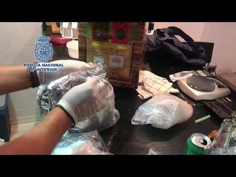 Operación contra la droga en Valladolid