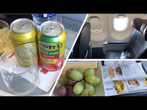 American Airlines' Domestic FIRST CLASS | Airbus A321 | Tampa To Philadelphia
