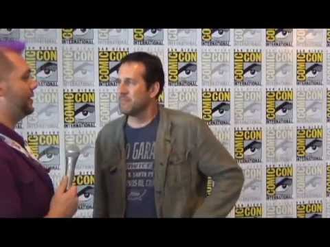 Once Upon A  s Zack Estrin at SDCC 2013