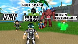 47TH IN SUPERHEROISM. DAY SUPERMAN SETS UP NEW TEAM / Roblox English / MadCity Roleplay
