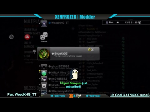 Black ops 2 / XP lobby / zombie rank and stats lobby