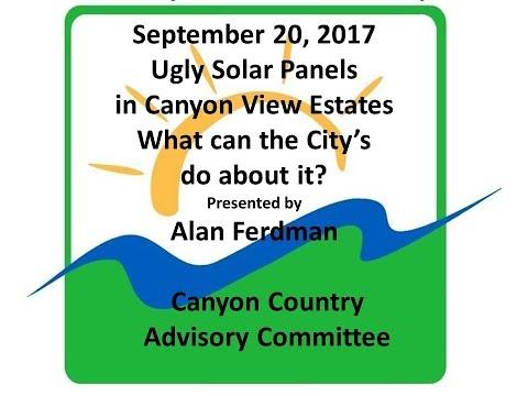 CCAC092017 Ugly Solar Panels