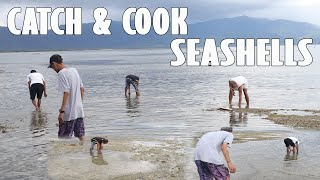CATCH & COOK SEASHELLS WITH RANDY & ANDONG