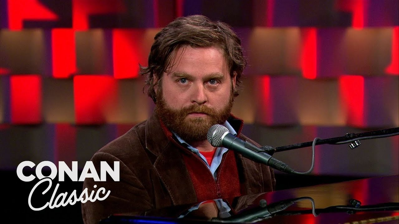 Download Zach Galifianakis Stand-Up | Late Night with Conan O'Brien