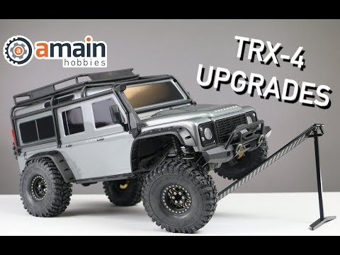 RC Upgrade Front Rear Bumper for 1//10 TRX4 Land Rover Defender RC Crawler