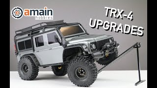 Video Simple Traxxas TRX-4 Upgrades to Boost Performance download MP3, 3GP, MP4, WEBM, AVI, FLV Juli 2018