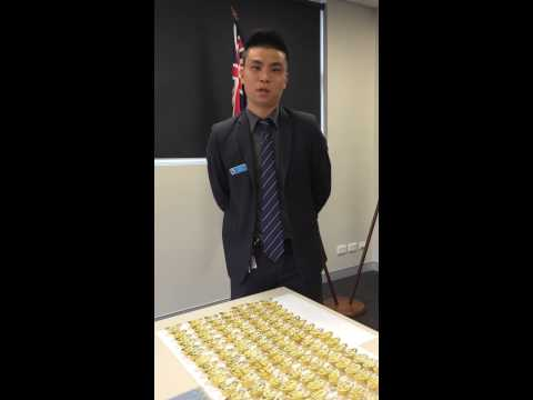 *Cantonese* Detective Senior Constable Eric Wong (Burwood LAC) on fake gold and scams