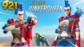 *NEW* HERO: JUNKERQUEEN IS COMING!? | Overwatch Daily Moments Ep. 921 (Funny and Random Moments)