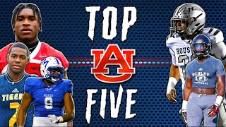 Auburn Tigers Top 5 Recruits Are Some WEAPONS l Sharpe Sports