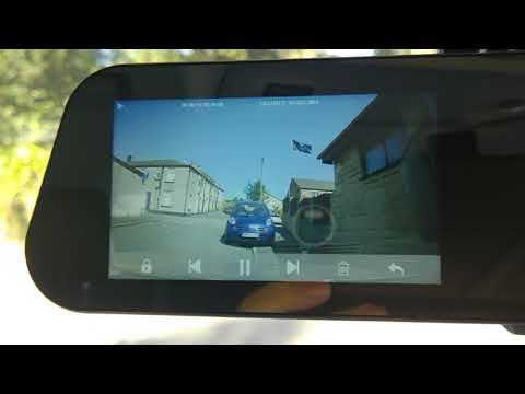Rear View Mirror Dash Cam Review