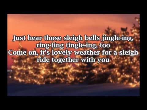 The Ronettes - Sleigh Ride - Lyrics