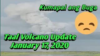 Taal Volcano Update January 17 2020