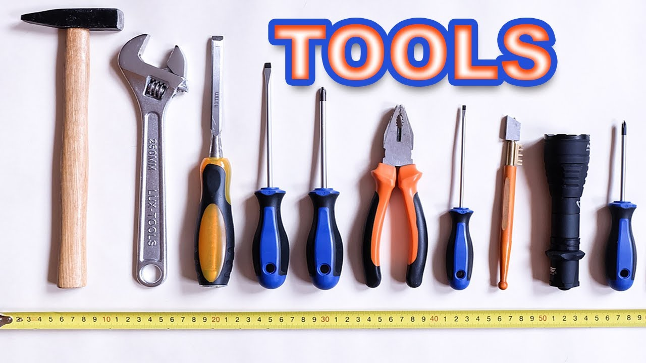 Tools Name and Picture | Tools| English Vocabulary | Toddler Learning