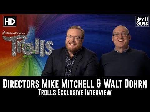 Directors Mike Mitchell & Walt Dohrn Exclusive Interview - Trolls Mp3