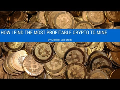 How I find the most Profitable crypto coins to mine.