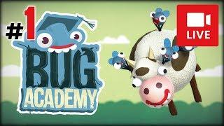 """[Archiwum] Live - Bug Academy! (1) - [1/2] - """"Muchy trzymające krowy"""""""