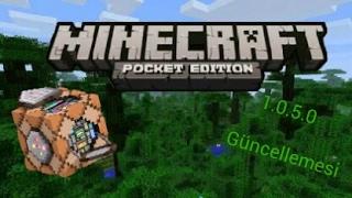 Minecraft Pe 1.0.5.0 Çıktı Komut Blokları Link Açıklamada