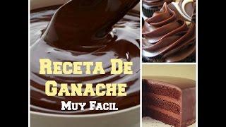 Cómo Hacer Ganache de chocolate Para Rellenar y Cubrir Un Pastel - Madelin's Cakes