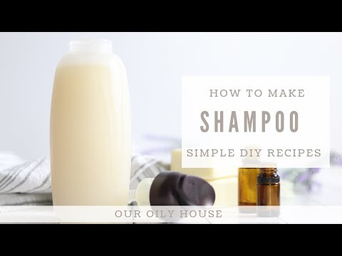 How To Make All Natural Shampoo | Simple Recipe Using Essential Oils