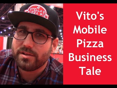 Vito of Stella's Pizza Pie: Ups and Downs of a Mobile Pizza Business  at Pizza Expo