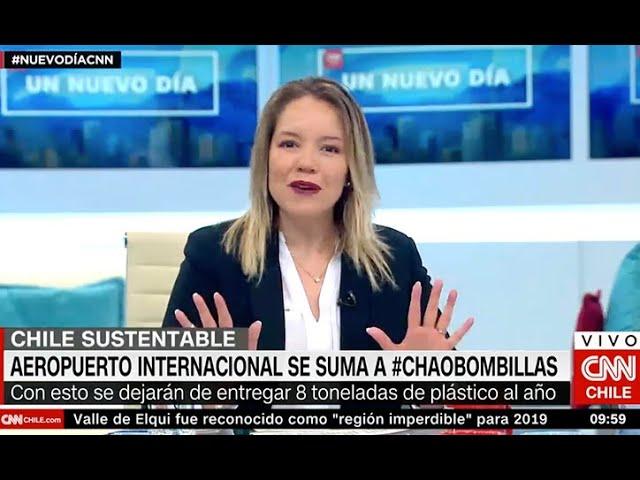 Cata Droguett CNN - Fin al uso de bombillas