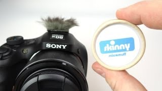 Using a Micro Muff to reduce Video Wind Noise (Plus a quick demo of a few Sony HX300 features)