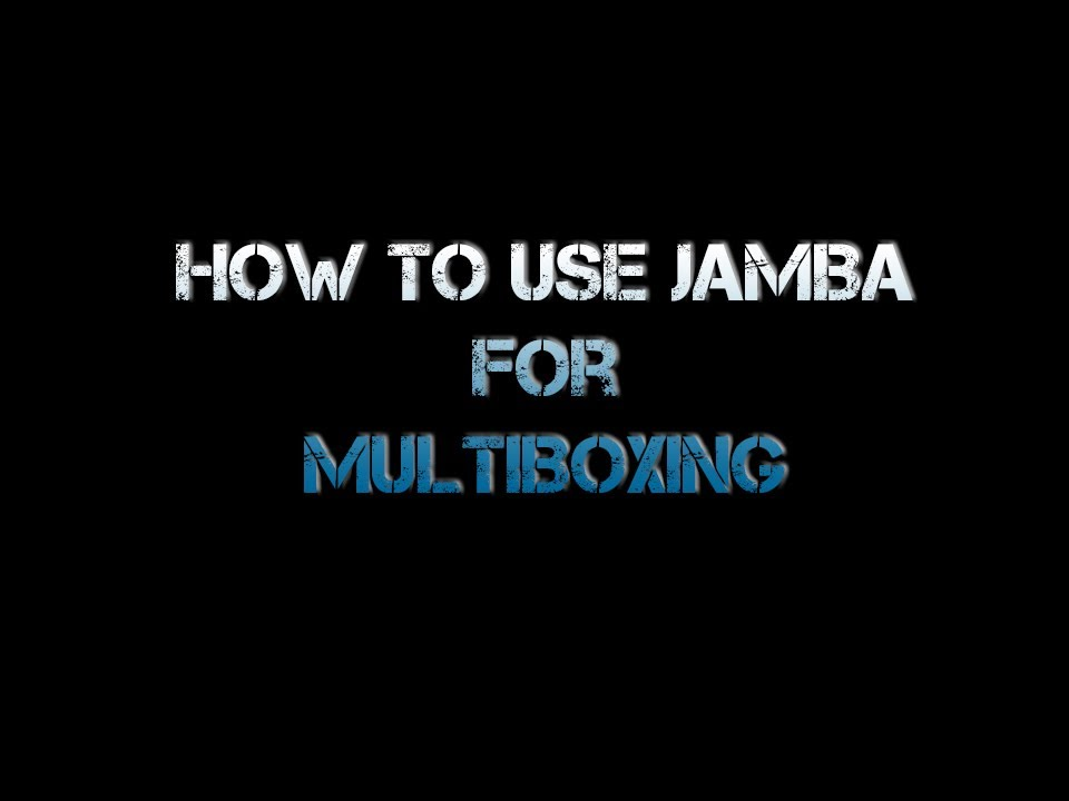 How To Use Jamba Addon For Multiboxing